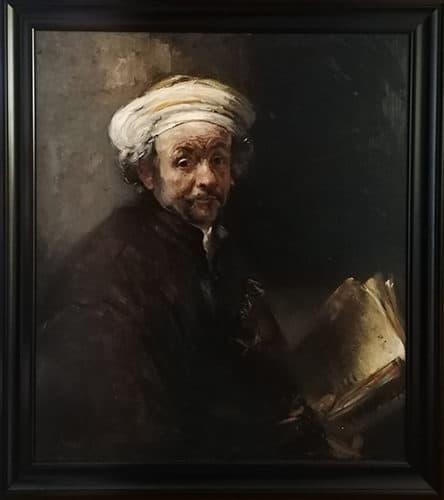 Rembrandt Zelfportret Nard Kwast Reproductie Rijksmuseum